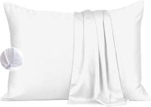 vegan silk bamboo pillowcase
