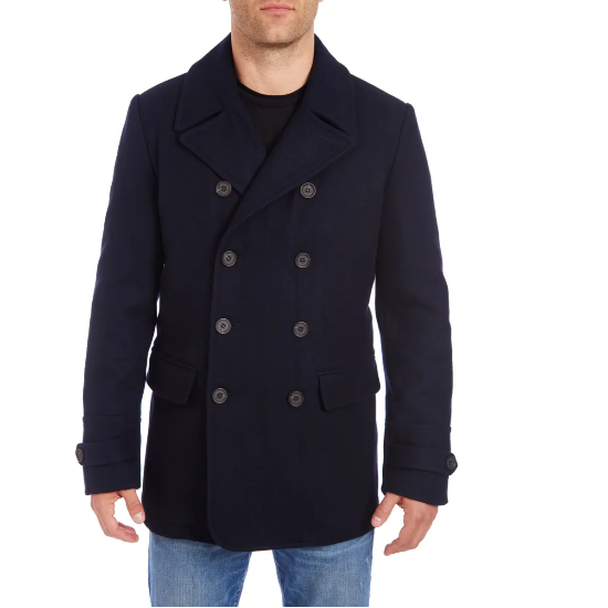 Vince Camuto water resistant peacoats for men