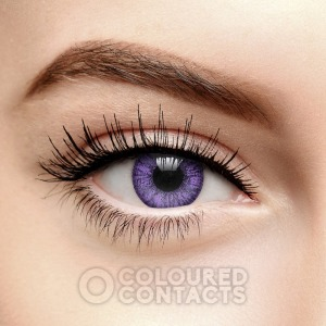 Coloured Contacts Violet Contact Lenses