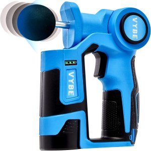 vybe percussion massage gun, fitness gifts, best fitness gifts