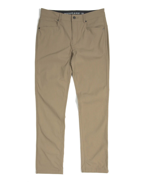 western rise at slim pants