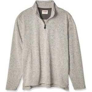 Wrangler Authentics Sweater Fleece Quarter-Zip