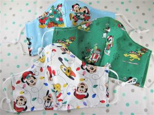 christmas face masks - BeansShack Christmas Disney Reversible Face Masks