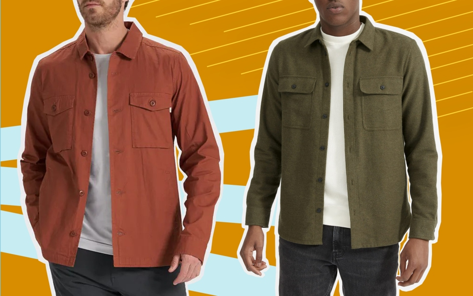 Two Men in Overshirts