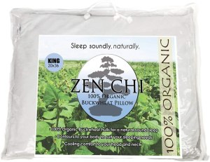 zen chi buckwheat pillow, best buckwheat pillow