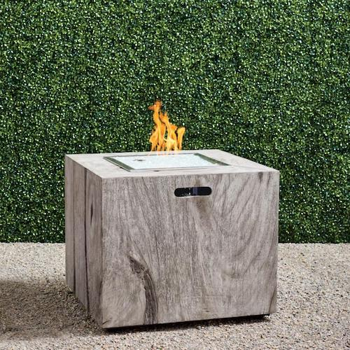 Bryndle Root Square Fire Table