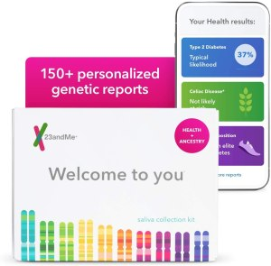23andMe DNA test, gifts for grandparents