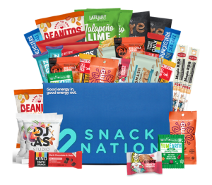 snack nation snack subscription box, snack subscription boxes