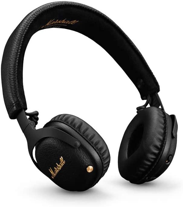 Marshall Mid ANC Black Bluetooth Wireless Over-Ear Headphones