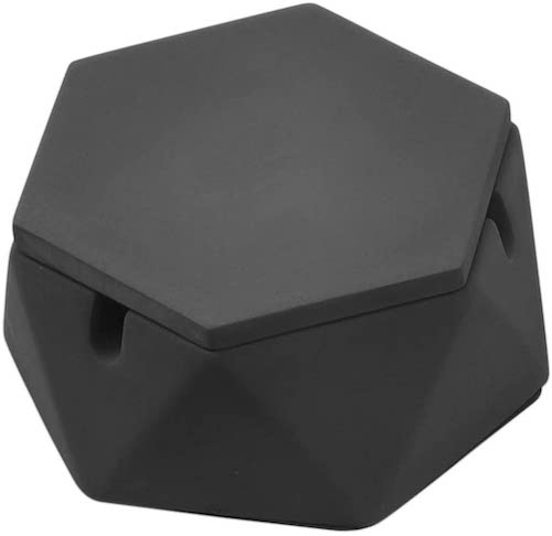 FREELOVE Concrete Cigarette Ashtray with Lid & Liner