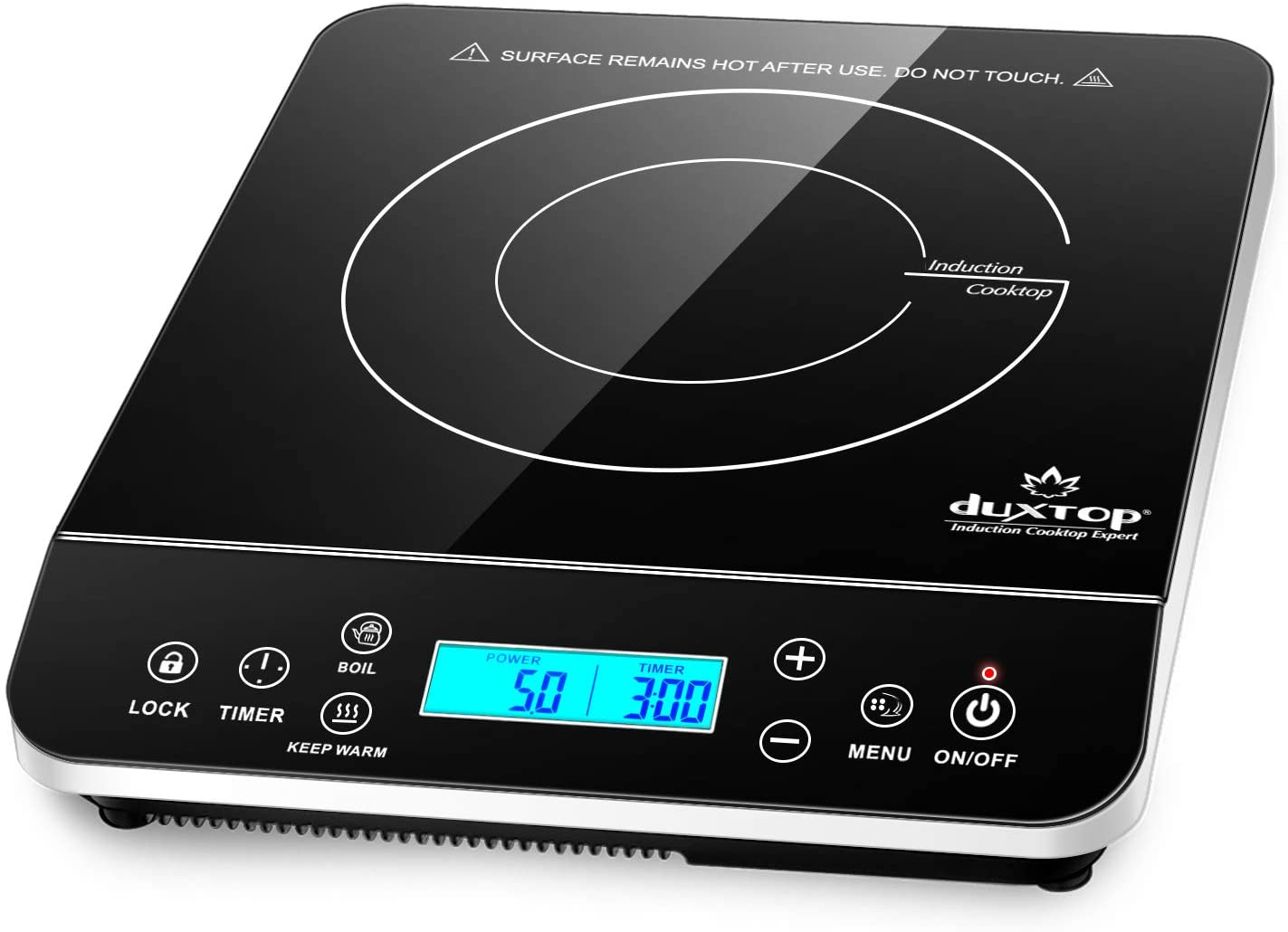 Duxtop 9600LS Portable Induction Cooktop- Best Kitchen Gadgets