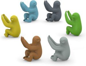 Fred SOCIAL CLIMBERS Sloth Drink Markers