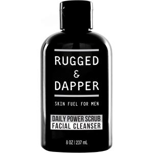 RUGGED & DAPPER Daily Face Wash and Scrub Cleanser