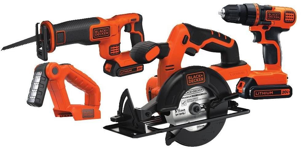 best power tool combo kits - black and decker tool kit
