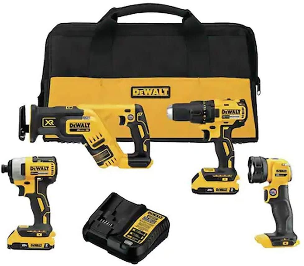 dewalt 4-tool kit, best tool kits
