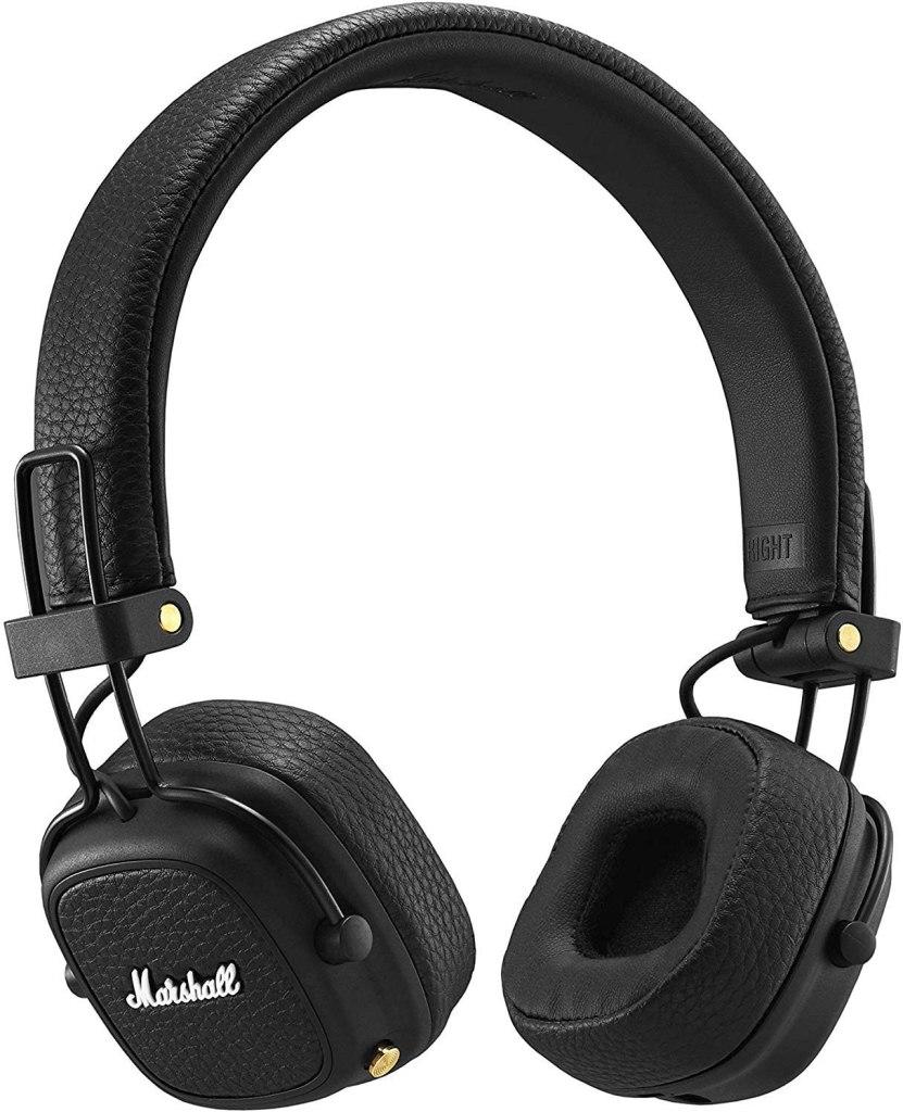 Marshall Major III Black Bluetooth Wireless On-Ear Headphones