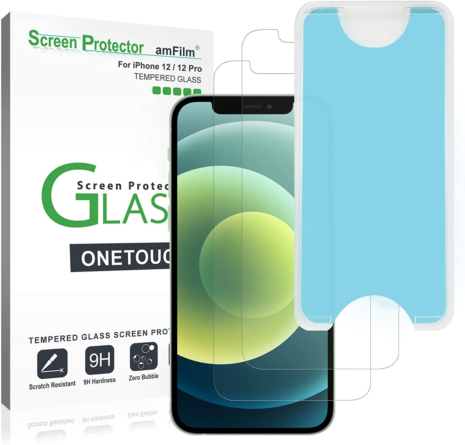 amFilm OneTouch Glass Screen Protector