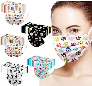 disposable face masks - Patterned Face Mask Variety Pack