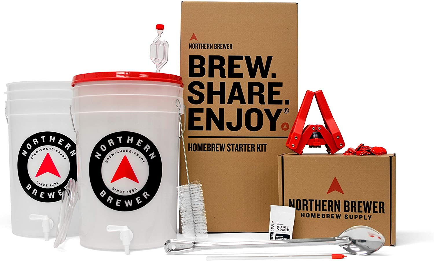 Northern Brewer HomeBrewing Starter Kit, best gifts for beer lovers