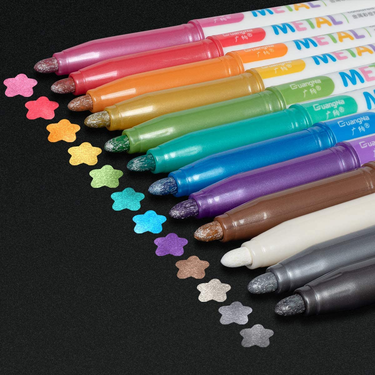 Metallic Markers Permanent Paint Pens