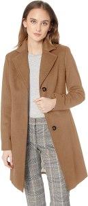 calvin klein women's cashmere coat, camel coats for women