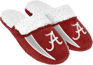 NCAA college men's football slippers, gifts for sports fans