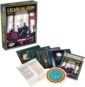 ThinkFun Escape the Room Secret of Dr. Gravely's Retreat