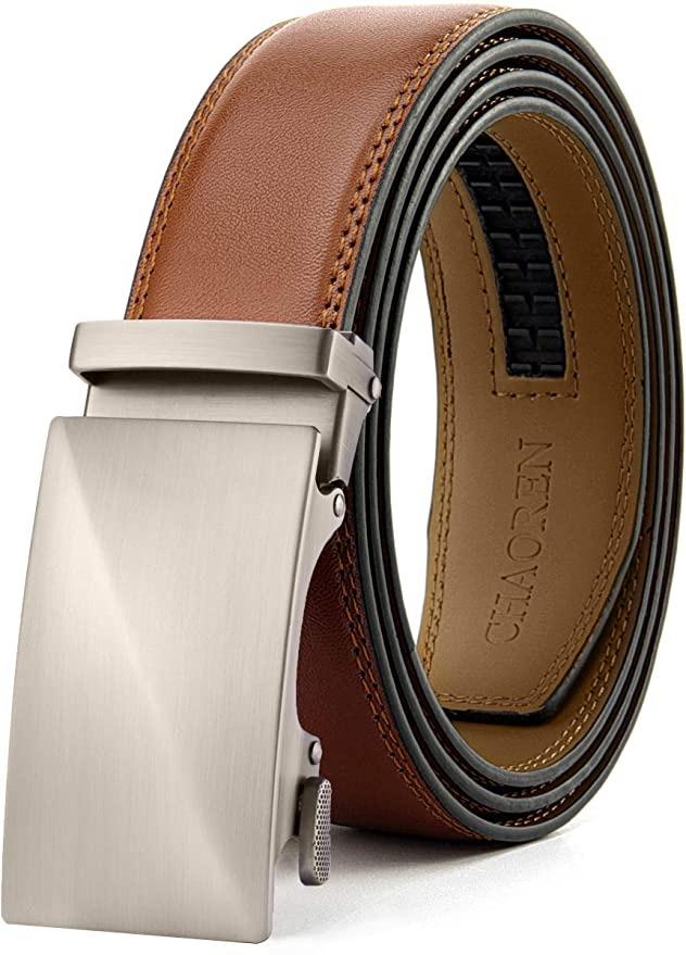 adjustable leather belt