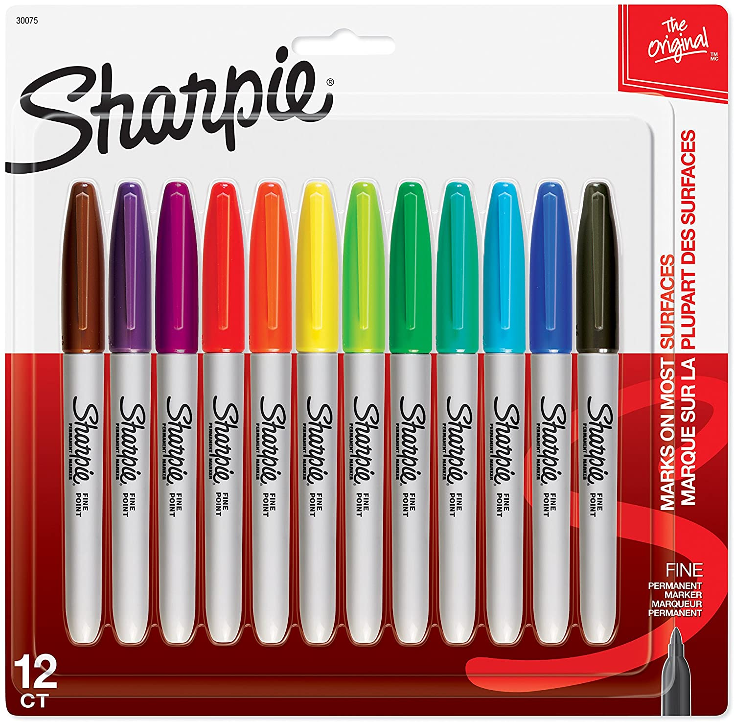 Sharpie 30075PP Permanent Markers