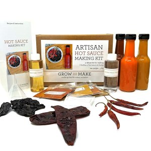 Grow and Make DIY Artisan Hot Sauce Making Kit