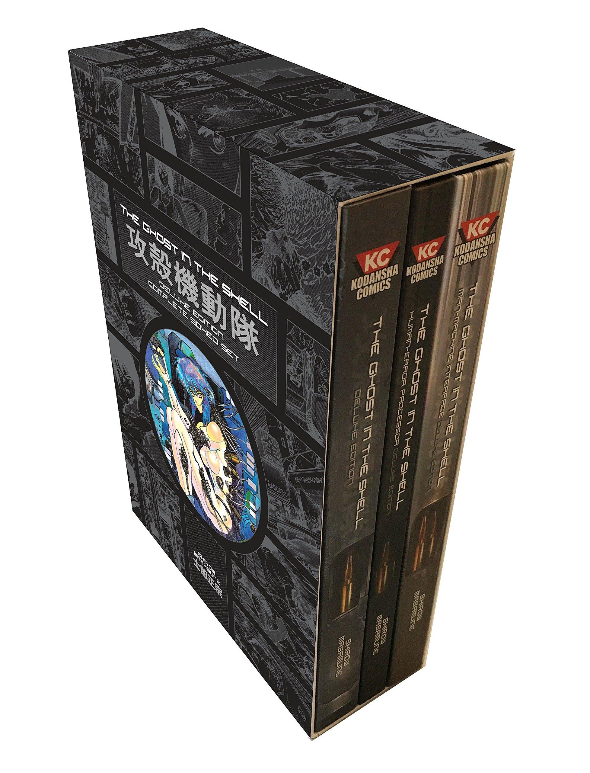 Ghost In The Shell Manga Set Cyberpunk