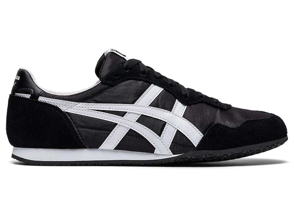 ASICS Onitsuka Tiger Serrano sneaker in black and white