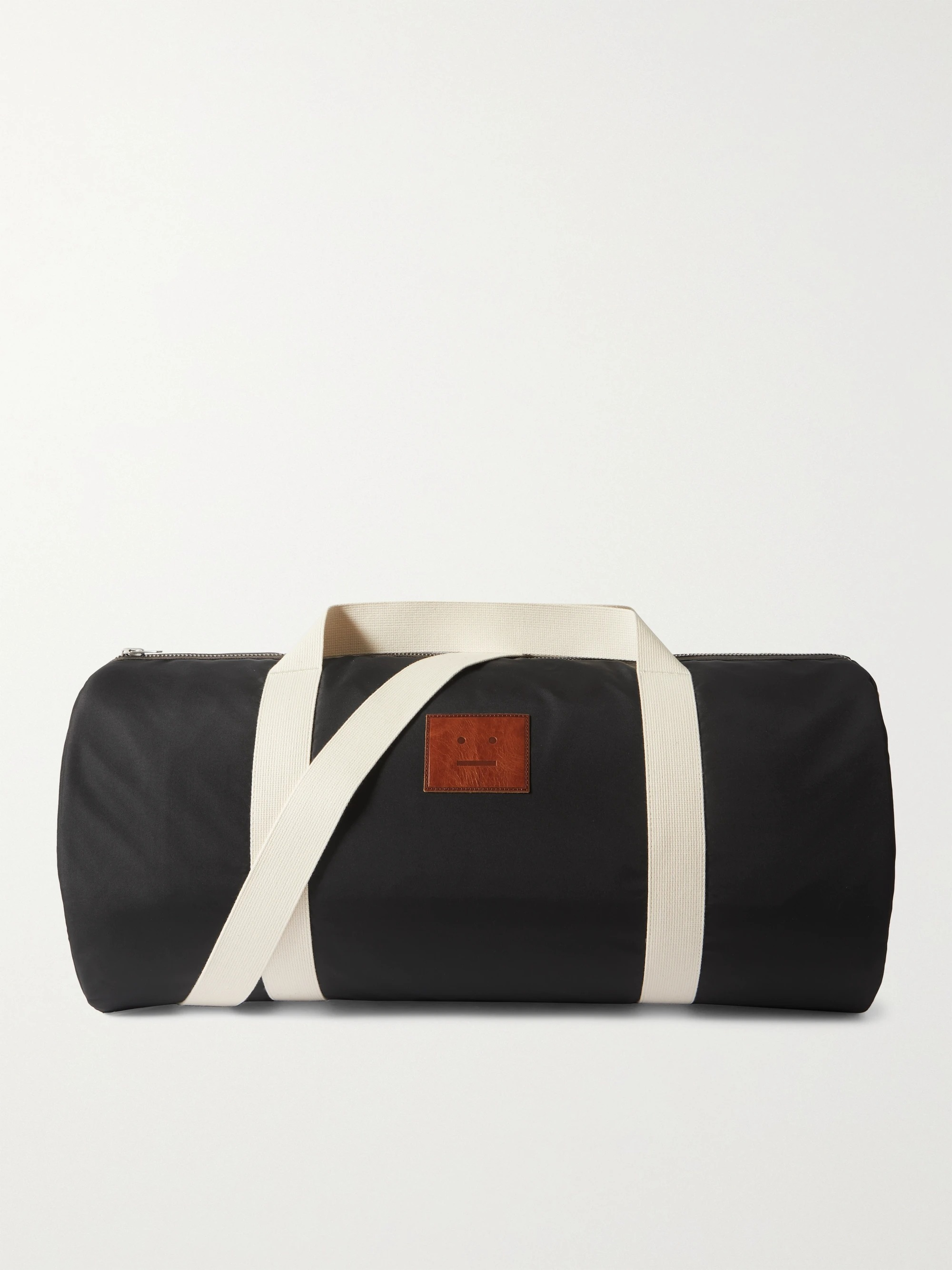 Acne Studios Logo Aplliqued Shell Duffle Bag