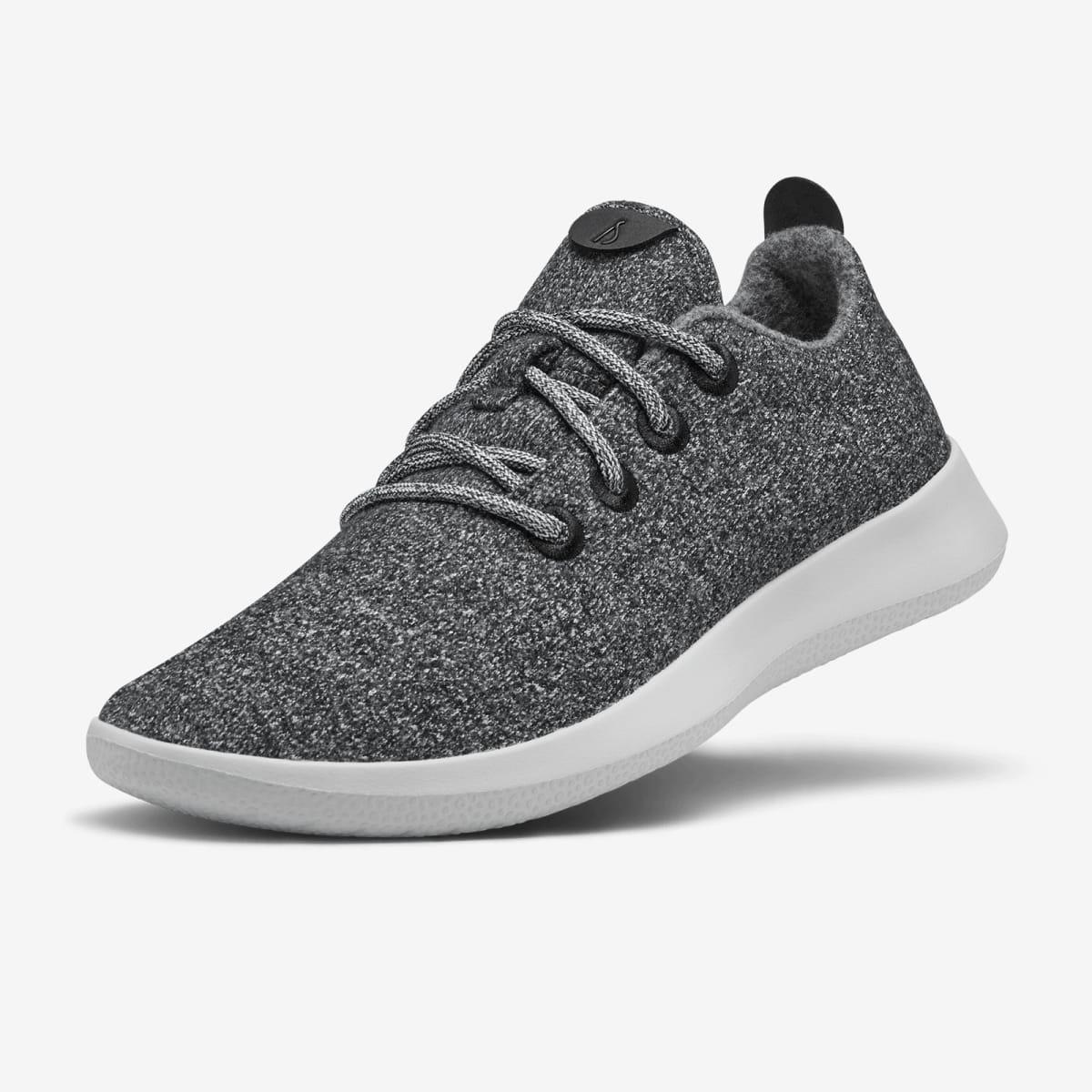 All Birds Men's Wool Runner sneaker in grey