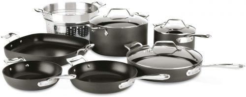 All-Clad Essentials Nonstick 10-Piece Cookware Set
