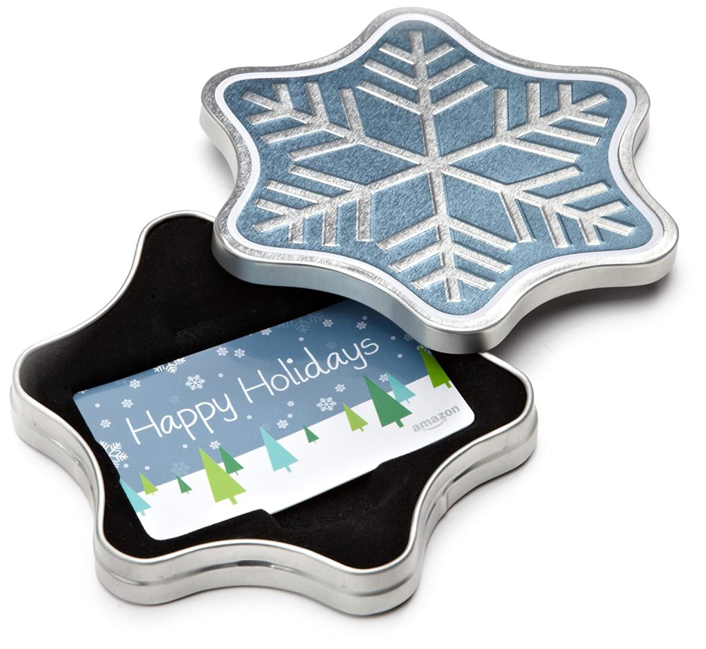 Amazon.com Gift Card in a Holiday Gift Box, best stocking stuffers of 2021