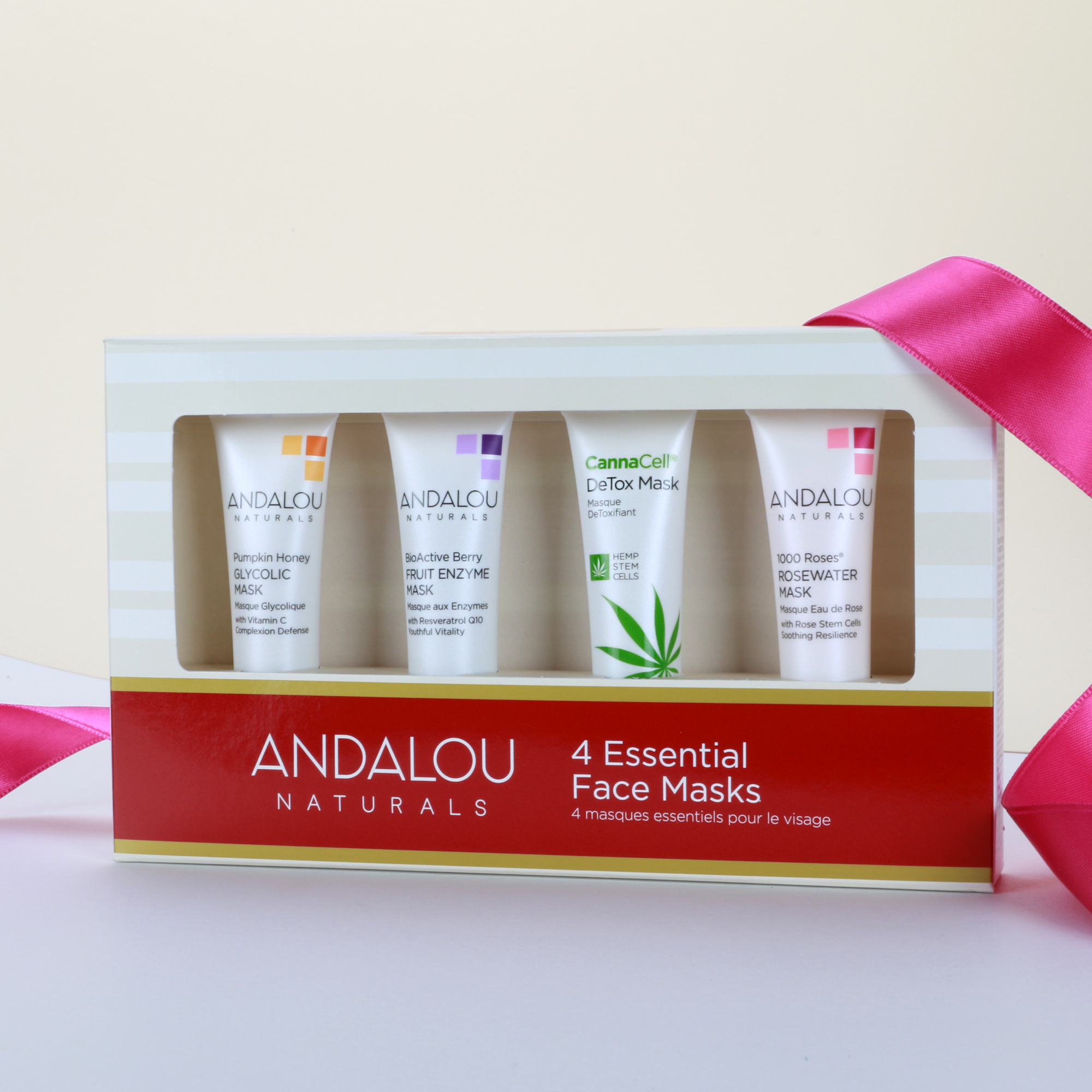 best beauty gift sets - Andalou Holiday Mini Mask Sampler