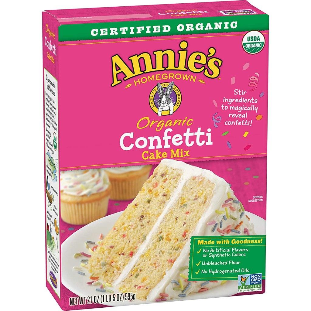Annie's Organic Confetti Cake Baking Mix