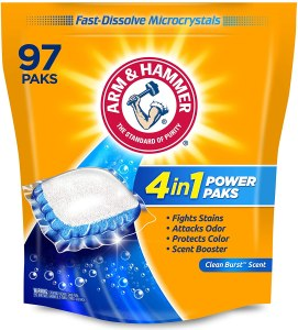 Arm & Hammer 4-in-1 Laundry Detergent pods