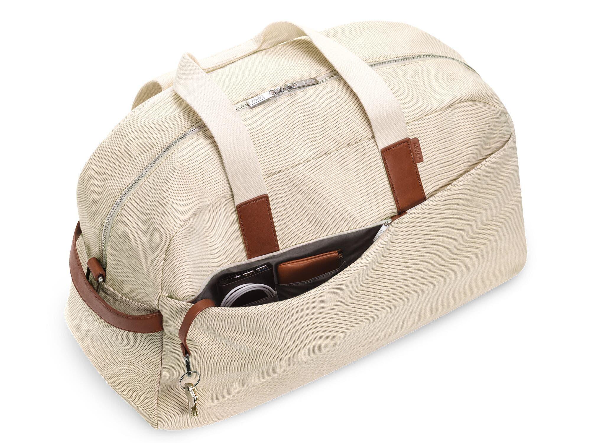 Away Weekender bag; best weekender bags