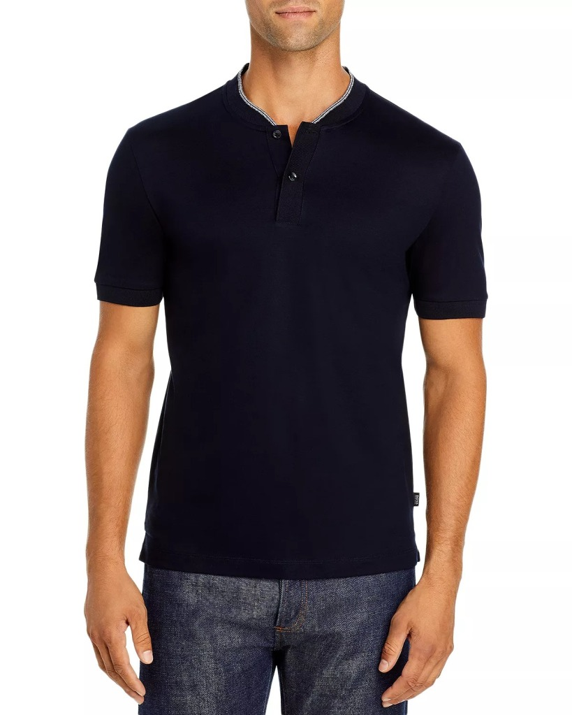 BOSS Slim Fit Tipped Polo