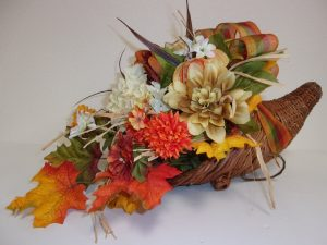 beautifulhomeaccents centerpiece flowers thanksgiving