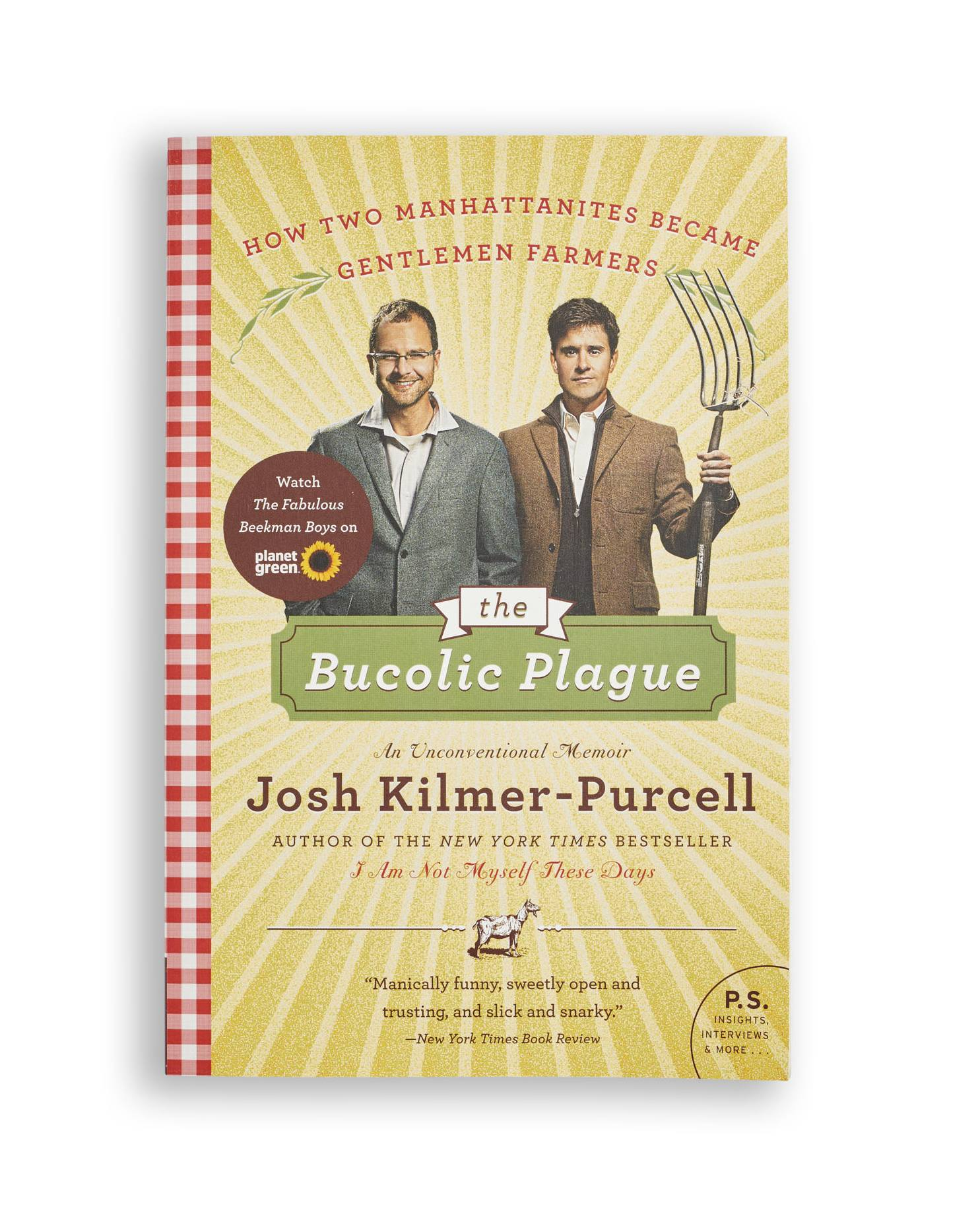 The Bucolic Plague book by josh kilmer-purcell, best gifts for book lovers