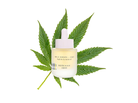 Beekman 1802 Milk Drops + CBD High & Dry Facial Oil