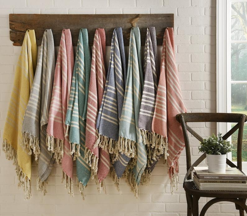 Beji Collections Cotton Blanket Throws