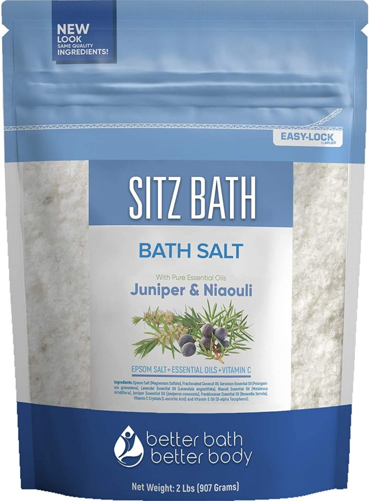 Better Bath Sitz Bath Soak, best bath salts