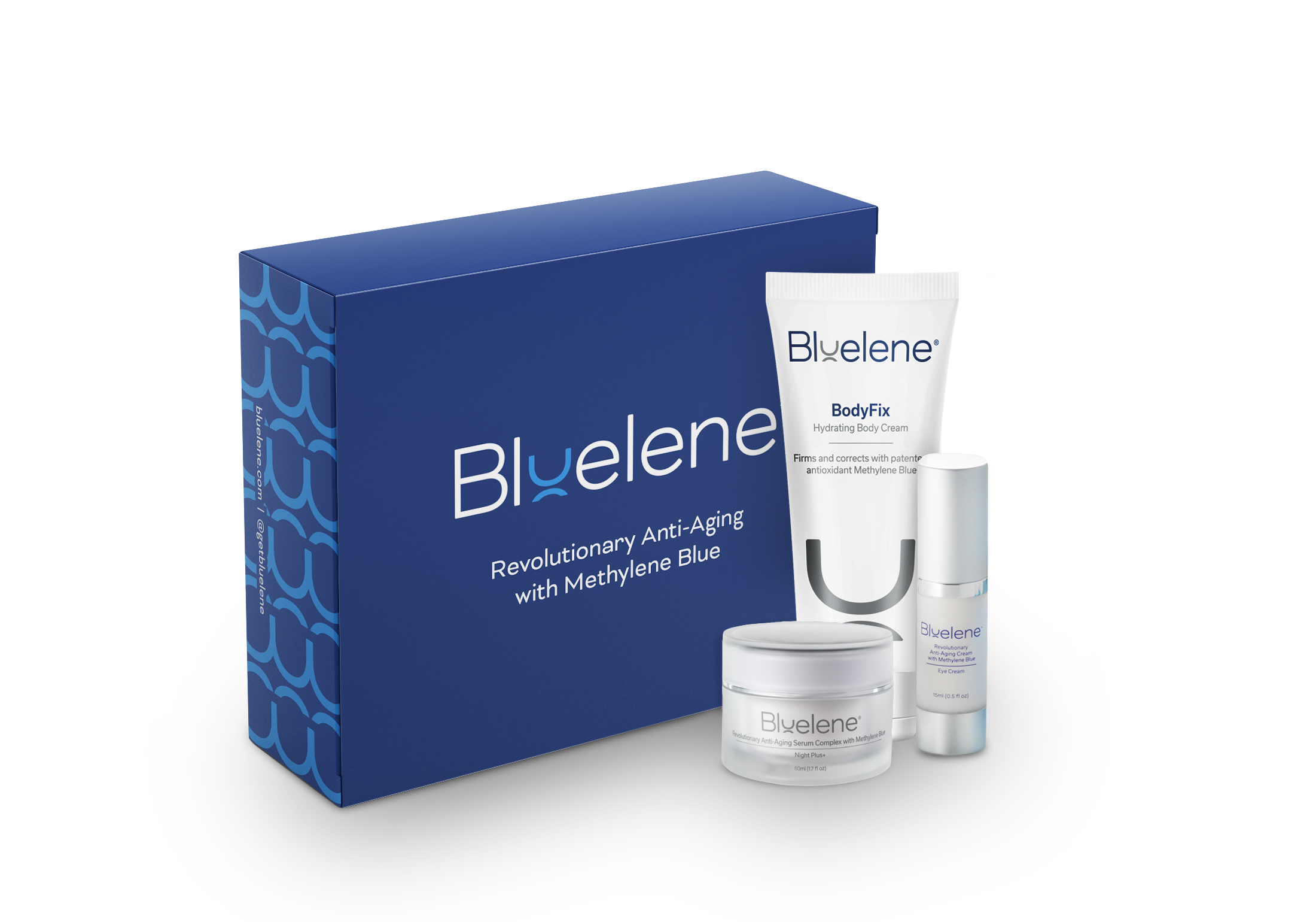 bluelene indulge skin care trio