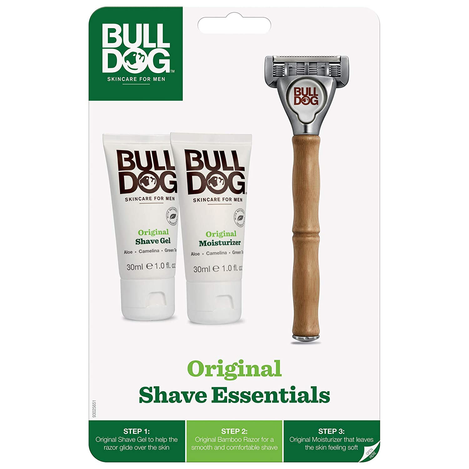 Bulldog Skincare and Grooming shaving set