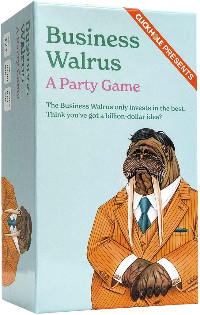 Business Walrus: A Party Game by ClickHole, best stocking stuffers