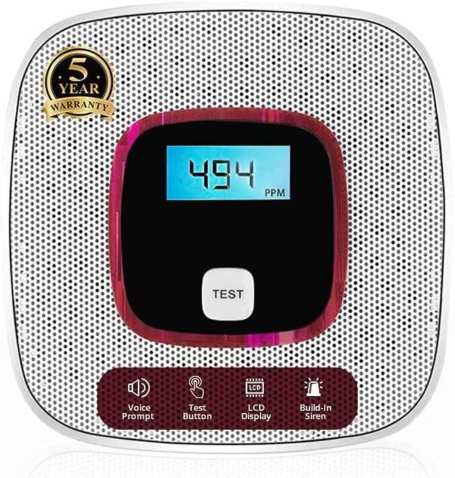 Carbon Monoxide Detector Alarm by Alert Pro